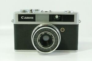 Range finder Canon Canonet Junior with 40mm F2.8 lens Ref. 31198