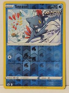 Pokemon TCG - Sneasel 030/198 Reverse Holo - Chilling Reign - Pack Fresh NM