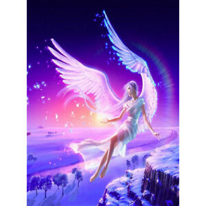 500 Pieces Paper Large Puzzles For Adults Kids Angel Wings Pattern Educational