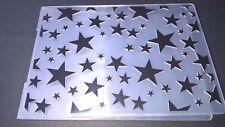 STAR Cartella di Goffratura sfondo Card Making Scrapbooking Diario journaling ART