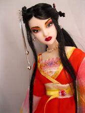 OOAK Obitsu Repaint custom Head Fairy Asian fashion Doll Assi momoko phicen