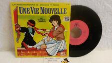 45T BO Générique Une Vie Nouvelle Claude Lombard LP Ades La 5 CINQ Canale TBE