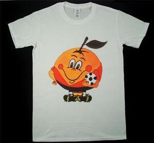 Espana 82 Naranjito Football World Cup Retro White T-Shirt S-XXXL Soccer Ciao