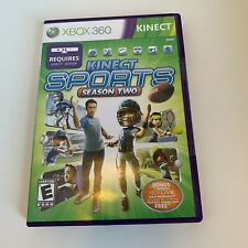 Kinect Sports Season Two 2 Microsoft Xbox 360 Brand New Sealed Free Shipping USA
