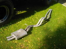 LAND RANGE ROVER DISCOVERY 1 V8 3.5 3.9 REAR TWIN EXHAUST SYSTEM CUSTOM MADE