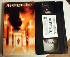 VHS: Appetite: horror Ute Lemper Trevor Eve Christen Anholt