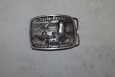 Davis Besse Nuclear Power Station System Plant Belt Buckle Limited Edition