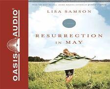 BOOK/AUDIOBOOK CD Lisa Samson Religious Fiction Novel RESURRECTION IN MAY