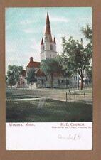 Winona,MN Minnesota, M.E. Methodist Episcopal Church used 1907
