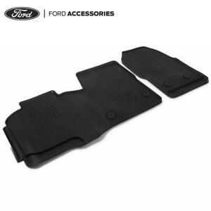 Genuine Ford Transit Mk8 Mk9 Custom Front Rubber Floor Mats Manual 2014- 2047030