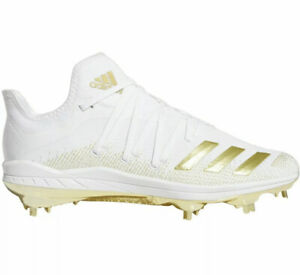 adidas DB3434 Special Edition Afterburner 6 Gold Men's Baseball Cleats Size 11