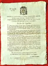 G98-BOLOGNA, LAVORI ARGINE RENO A BERTALIA, CARDINALE ALBANI, 1826