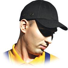 Anstoßkappe Schutzhelmkappe Hardcap Arbeitskappe ABS Schutzhelm Helm Schwarz