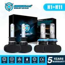 H1 H11 LED Headlight High Low Beam Kit for Kia Forte 2010-2016 Optima 2007-2015