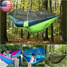 2-Person Travel Outdoor Camping Tent Hanging Hammock Bed Swing with Mosquito Net