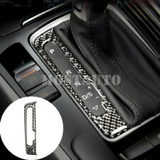 For Audi A4 S4 Carbon Fiber Console Gear Box Display Screens Cover 2008-2015