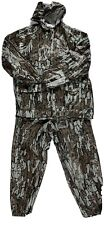 Sportsman Trebark Camo Hunting JACKET & PANTS Rain Gear USA Size M