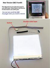 New Version GBC Frontlit Frontlight Front Light Kit For Nintendo Game Boy Color