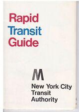 Subway Map: NYCTA Rapid Transit Guide - 1968 Edition