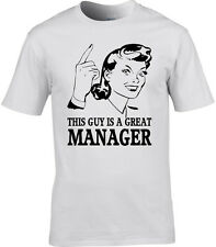 Organizador Hombres Camiseta Idea De Regalo ocupación TIENDA LINE Cabeza Jefe