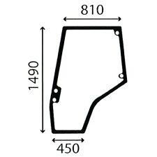 More details for l/h door glass for massey ferguson 5425 5435 5445 5455 5460 5465 5470 tractors.