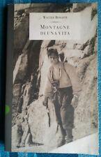 MONTAGNE DI UNA VITA di WALTER BONATTI 1995  Baldini & Castoldi Libro alpinismo