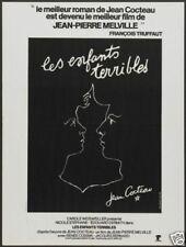 Les enfants terribles Jean Cocteau movie poster print