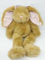 "Build A Bear Bunny Rabbit Brown Plush Vintage 18"""
