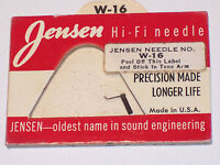 Jensen W-16 Needle Stylus NOS Replaces Webster WE-16 Free Shipping