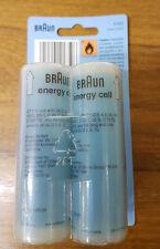4 x BRAUN GAS REFILLS FOR ALL BRAUN CORDLESS STYLERS ---  25ml / 14g NEW