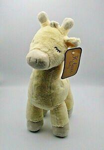"K. Luxe Baby Giraffe Rattle Toy Stuffed Animal KellyToy 0+ 15"" Brand New w/Tags"