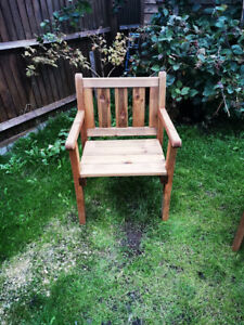 Wood Garden Patio Furniture Chair armchair CUSTOMISE add bench or table quality!