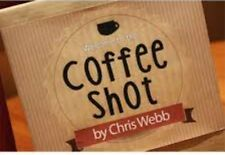 Coffee Shot (Gimmicks & DVD) by Chris Webb - New Street Magic Trick (See Video)