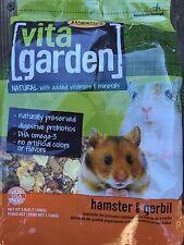 Higgins Vita Garden Hamster Gerbil Food natural gourmet food mix 2.5lb use 2/18