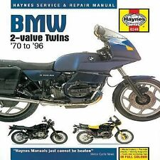 1970-1996 Haynes BMW 2-Valve Twins Hardback Repair Manual