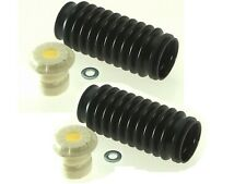 For Acura Cadillac Pair Set of 2 Front Shock Bump Stops & Bellows MOOG K90467