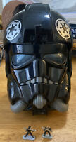 1996 Star Wars Micro Machines Tie Fighter Pilot Head Playset - Complete