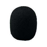 1 Bonnette Anti Vent Pour Micro Diamétre7 à 9 mm Dimension 14 x 15 mm Noire