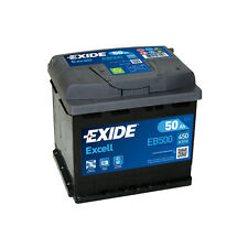 1x Exide Excell 50Ah 450CCA 12v Type 079 Car Battery 3 Year Warranty - EB500