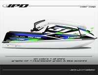 IPD Jet Ski Graphic Kit for Kawasaki 440 & 550 (JM Design)
