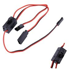 Long life Power On/Off Switch With JR Receiver Cord For FUTABA RC Car Flight