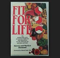 FIT FOR LIFE by Harvey, Marilyn Diamond a Hardcover book FREE USA SHIPPING