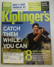 Kiplinger's Magazine Mike McDonald & Eco-Cars October 2003 051615R2
