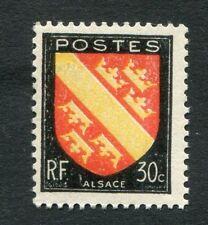 Timbre neuf FRANCE TB** YT n° 756 : Armoiries de l'ALSACE - 1946