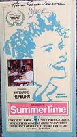Summertime (VHS) 1955 drama stars Katharine Hepburn, Rossano Brazzi