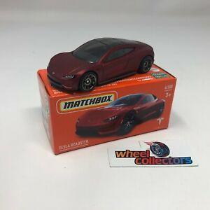 Tesla Roadster * 2021 Matchbox POWER GRABS Case Y * WG6