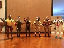 Rambo -  Force Of Freedom. Lot of 6 Action Figures. 1985/1986 Made By Coleco.