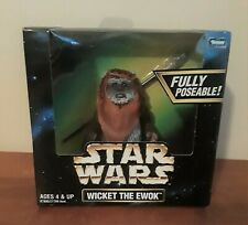 1998 Kenner Star Wars Action Collection Wicket The Ewok Action Figure