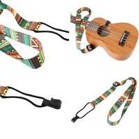 Gitarrengurt für E-Akustikgitarrengurt Buntes Ukulele Adjust Top