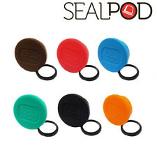 Sealpod Fresh Cover & Silicone Ring for Sealpod Capsules (6 Colors Set)